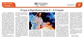 O que é o Espiritismo Parte II A Criação