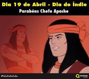 19 de Abril. Feliz dia do Índio