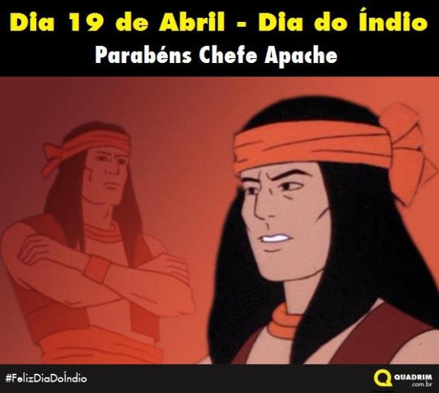 19 de Abril. Feliz dia do Índio