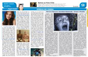 Laranja Mecanica e Estreias da Semana 26.04.13