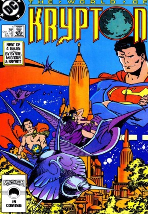 O Mundo de Krypton  Capa- 1 de 4
