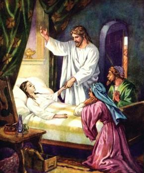 Jesus cura acamado