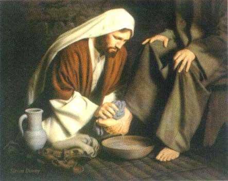 Jesus e humildade