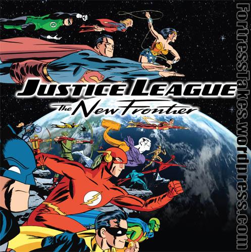 Liga da Justiça  A Nova Fronteira 2008  Analise da Animação