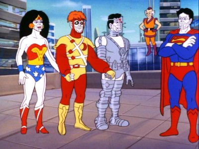 The Bizarro Super Powers Team