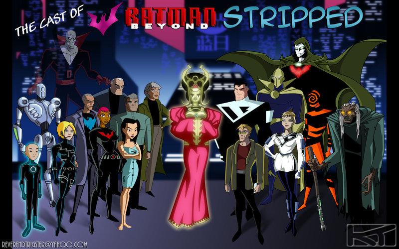 Batman_Beyond___Cast_Photo___by_ReverendTrigster
