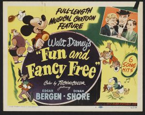 1947 Fun and fancy free