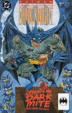 Batman LOTDK 38 cover
