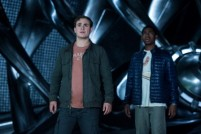 "Dacre Montgomery as ""Jason"" and RJ Cyler as ""Billy"" in SABAN'S POWER RANGERS. Photo by Kimberly French."