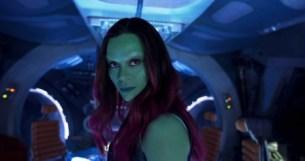 Guardians Of The Galaxy Vol. 2..Gamora (Zoe Saldana)..Ph: Film Frame..©Marvel Studios 2017